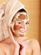 natural acne treatment, healing earth, blackheads